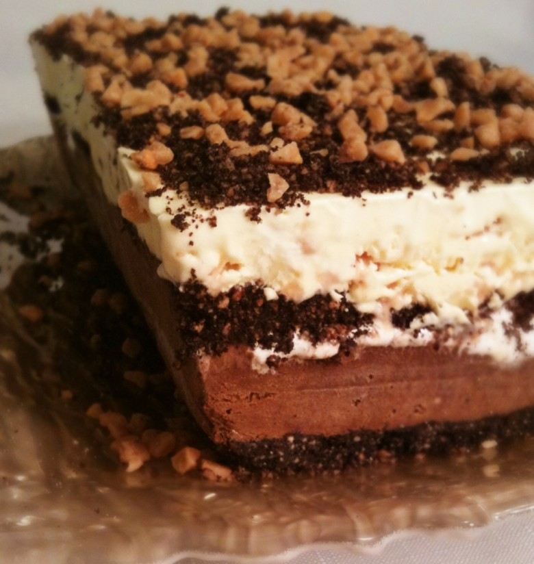 Marshmallow Toffee Ice Cream Cake Chocolate